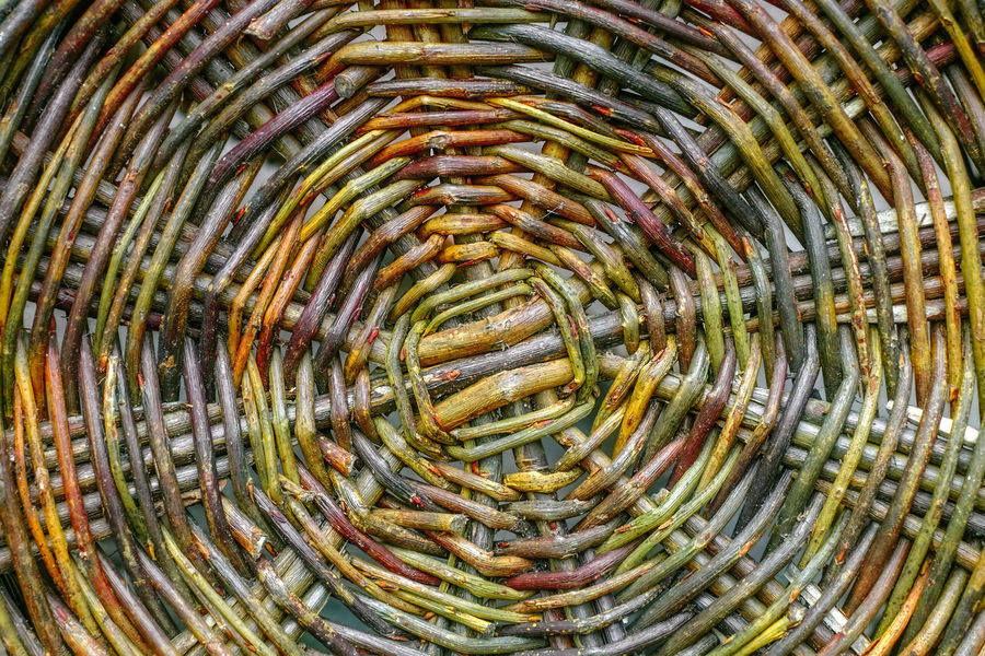 Wicker basket background Abstract Backgrounds Basket Basket Background Close-up Concentric Day Freshness Full Frame Nature No People Outdoors Pattern Spiral Textured  UnderSea Wicker Basket Wicker Work