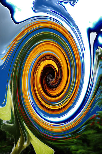 AI Now Abstract Close-up Day Motion Multi Colored Nature No People Outdoors Sky Swirl