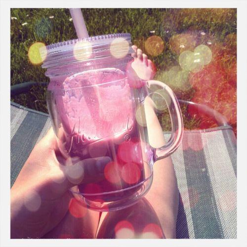Healthy milchshake (pink) Himbeeren, Erdbeeren, heidelbeeren ... First Eyeem Photo