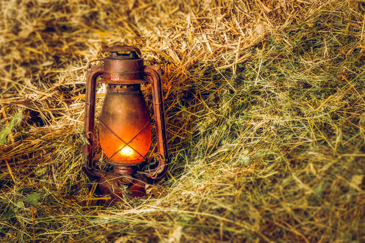 Vintage lit lamp in hay Lamp Post Close-up Day Dried Hay Dry Hay Field Grass Hay Hay Stack Illuminated Lamp Lamp Light Lit Lamp Nature No People Old Lamp Old-fashioned Outdoors Red Lamp Retro Styled Vintage Vintage Lamp Visual Creativity The Still Life Photographer - 2018 EyeEm Awards