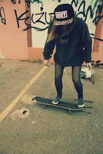 That's Me Skateboarding Mylove ❤️