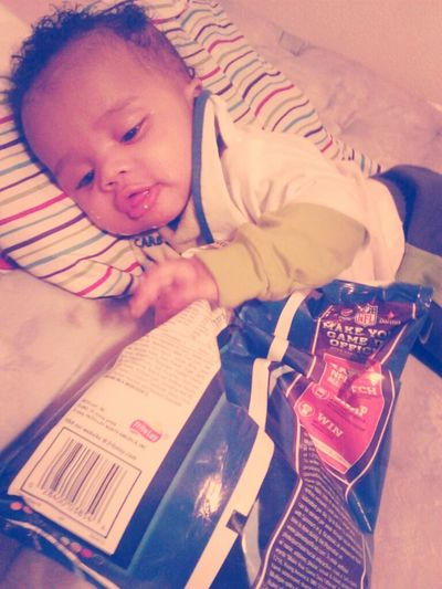 My Baby Wanting Them Chips