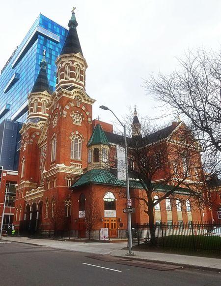 St. Mary's church downtown Detroit.. EyeEm Best Shots Showcase July Pure Michigan Architecture_collection Churches And Beauty Churches Collection Detroit Michigan