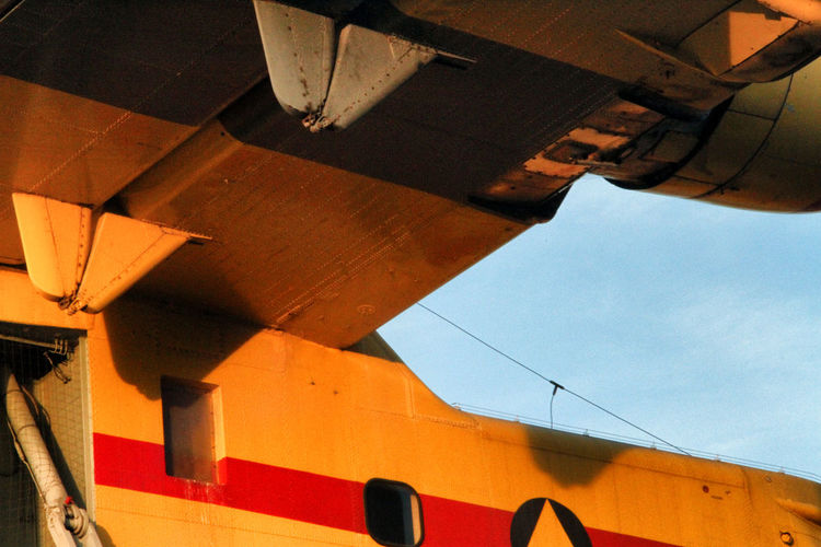 Bomber Canadair Day Details Firework France Photos Low Angle View Plane Sky Water Bomber Yellow
