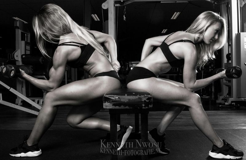 Bo van den Brink & Joyce van Egmond Today's Hot Look Fitness Fitnessmodel Motivation Bodybuilding Inspiration Fitness Eye4photography