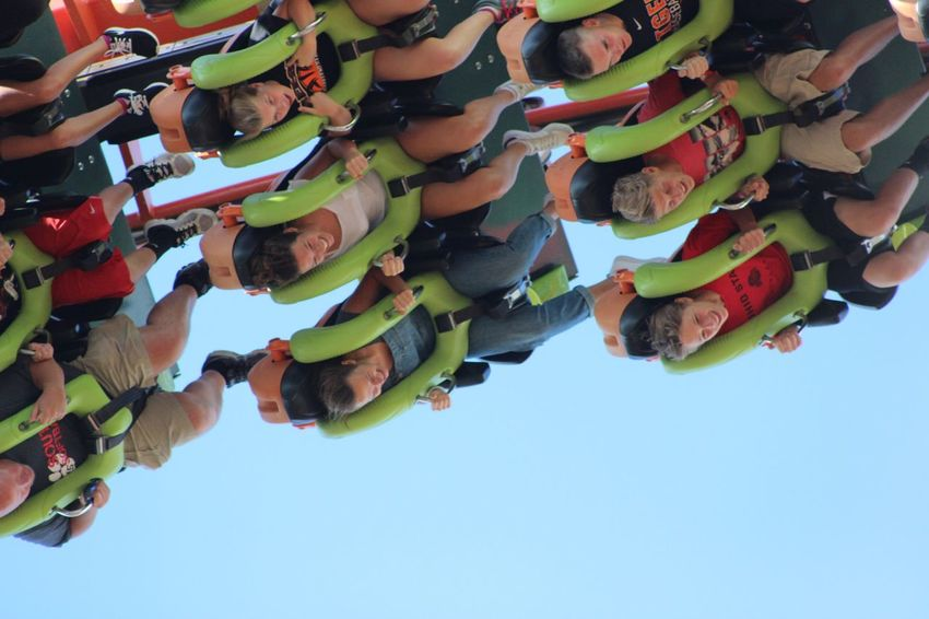 Enjoying Life Cedar Point Roller Coaster Capital Of The World Speed Fun Roller Coaster Screaming Flippedover