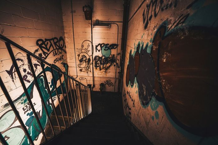 EyeEm Selects Graffiti Built Structure Architecture Indoors  No People Day