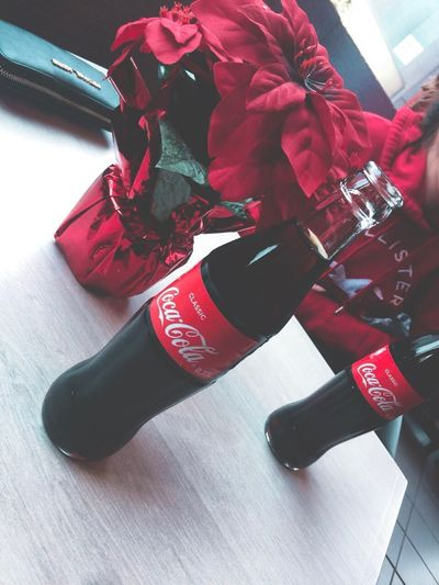EyeEmNewHere Cola Coke Indoors  Red Exercising Sport Boxing Glove Close-up Day No People