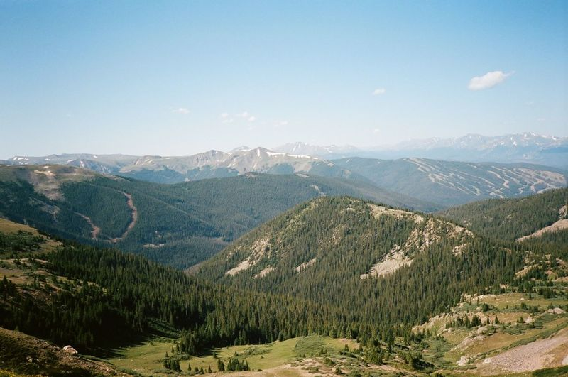 I <3 Colorado Landscape 35mm Film Film Photography Pines Trees Sky Mountain Range Mountain Loveland Colorado Loveland Pass Nature Outdoors Colorado The Great Outdoors - 2018 EyeEm Awards The Traveler - 2018 EyeEm Awards