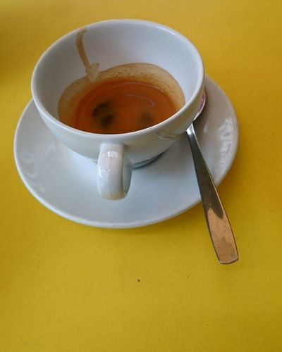 Saturday and Time for an Espresso at Chokladfabriken Make mine a Double ! Tjärhovsplan Södermalm Showcase June My Coffee Moment