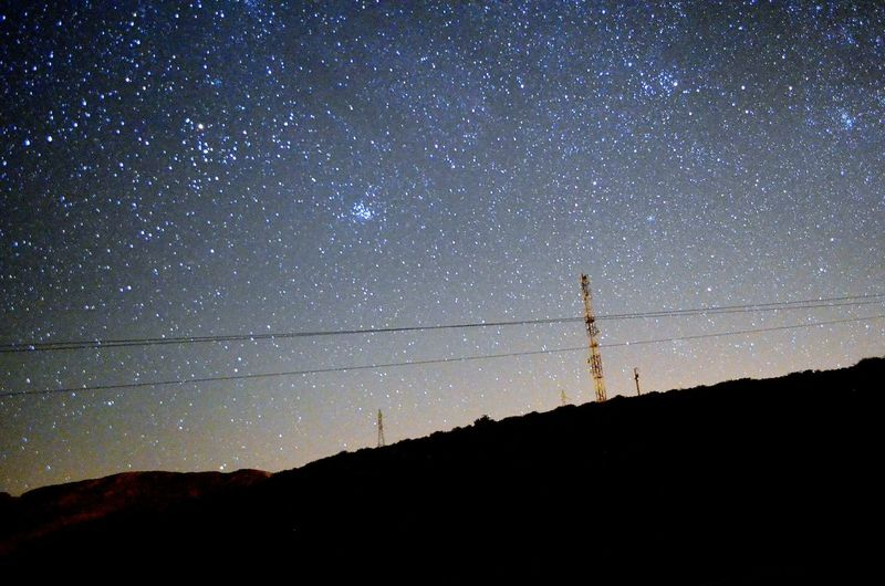 the sky is for free.look up 👆👆👆 سبحانك ربي الحمد لله Oujda City, Morocco Great Morocco Sky Beautiful Nature Night Starry Night Stars Space Broadcasting