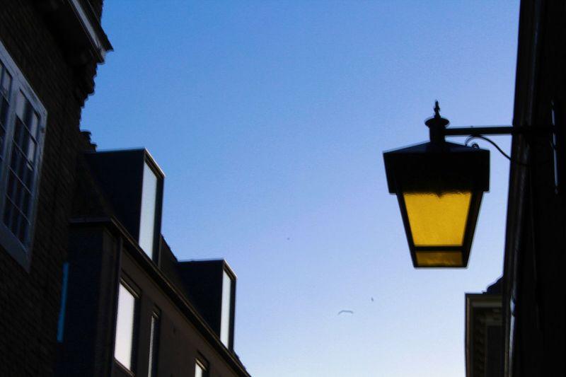 lamp Clear Sky