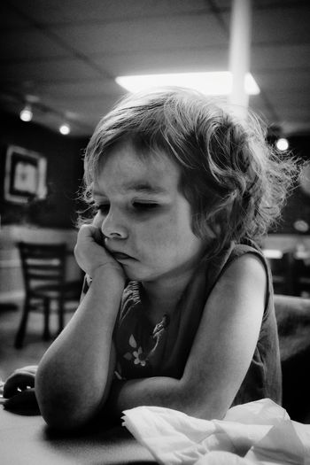 """The Grumpy Bug"" https://youtu.be/wt4drZrlZo8 Grumpy Face Not Happy A Day In The Life Kids Being Kids Dinner Monochrome B&W Portrait"
