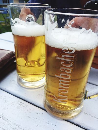 Krombacher Drink Beer - Alcohol Drinking Glass