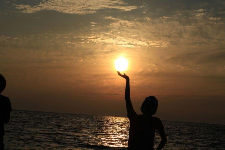Relaxing Enjoying Life Hello World Sansetちびちゃん(*^^*)元気玉やな(笑)