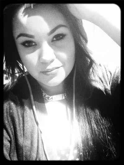 Black & White Selfie Just Me Zehlin
