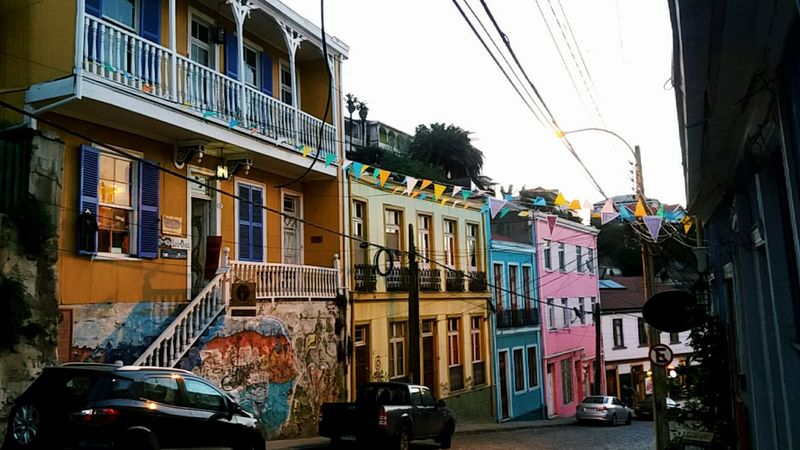 Colorful houses🎨 Valparaiso, Chile Valparaíso Cerro Alegre Colorful Houses Colorful Colorful Life Rainbow Street VSCO Southamericancities Colour Of Life Hidden Gems