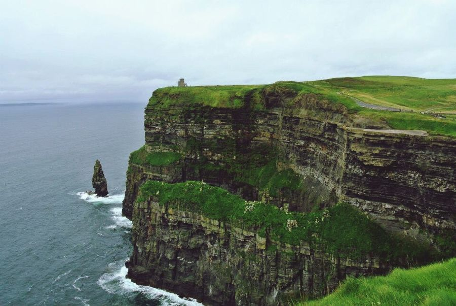 Cliffs Of Moher  Ireland Ocean Hello World At The Edge Of The World
