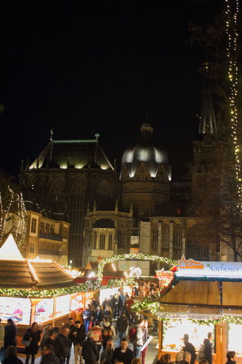 Aachen Aachener Dom Aachener Weihnachtsmarkt Architecture Building Exterior Built Structure Christmas Christmas Is Coming Christmas Market ♡ City Crowd Dome Eyeem Christmas History Illuminated Large Group Of People Night Outdoors Pavilion Roof Travel Destinations