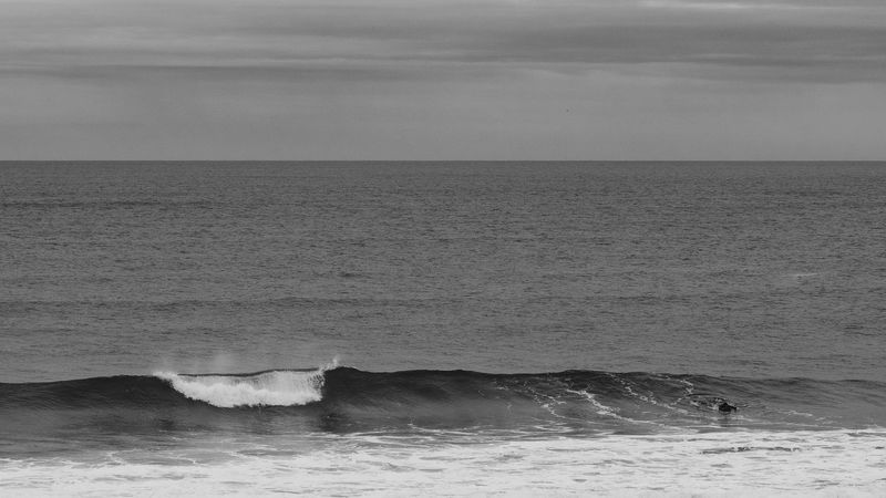 Oregon Blackandwhite Surfer Water Sea Beauty In Nature Nature Beach Outdoors Wave