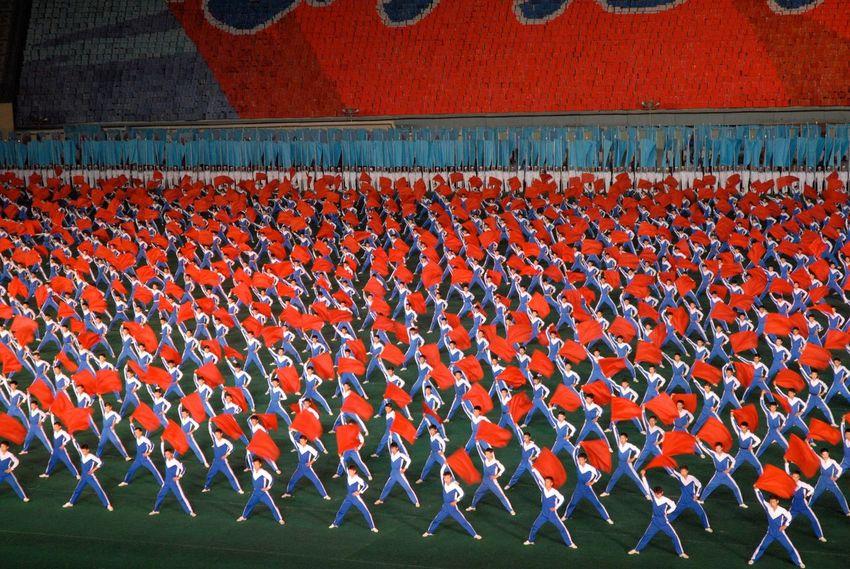 Pyongyang North Korea Arrirang