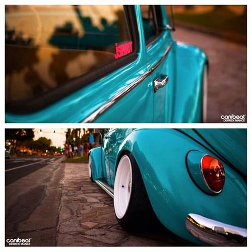 Seriously love this car! And shooting in Waikiki and no cops stopping us is crazy Everyonelovesbeetles Canibeat Repcib Oookillem
