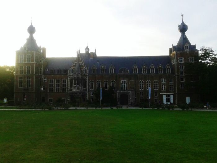The castle KU Leuven Castle University Leuven Belgium