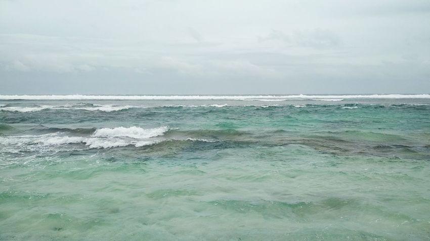 Sea Water Beach Beauty In Nature Nature Scenics Cloud - Sky