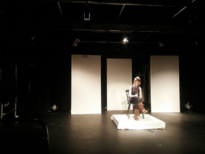 What actress does! Drama Actor Acting... Theatre Theater Stage Shakespeare Rehearsals First Eyeem Photo