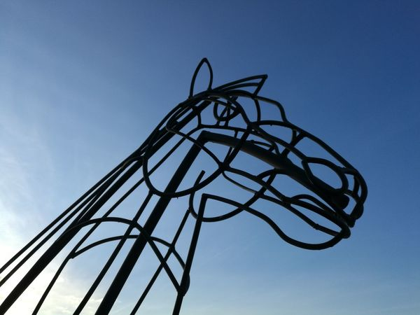 No Filter, No Edit, Just Photography The Purist (no Edit, No Filter) ArtWork Silhouette Low Angle View No People In Memory Eyeemphotography EyeEmNewHere EyeEm Best Shots Sky Simple Photography Eye4photography  Art EyeEm Gallery Eye Em Around The World Exceptional Photographs EyeEmBestPics Day Metal Sculpture Artistic Simplicity Horse EyeEm EyeEm Masterclass Live For The Story Out Of The Box The Street Photographer - 2017 EyeEm Awards The Great Outdoors - 2017 EyeEm Awards The Architect - 2017 EyeEm Awards The Photojournalist - 2017 EyeEm Awards The Portraitist - 2017 EyeEm Awards EyeEm Selects Rethink Things Postcode Postcards