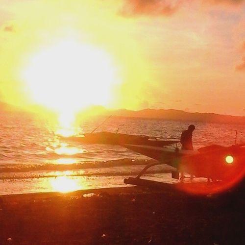 Atimonan Sunrise,,,, yes it is sunrise... Sunrise Solarflare