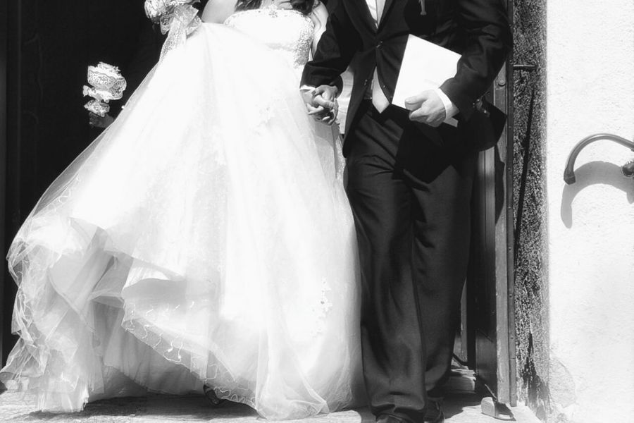 Weddings Around The World Wedding Photography Wedding Marriage  Holding Hands Love Life Couple Family Happiness Church Blackandwhite Black And White Weddingdress Black & White Bnw Popular Photos Popular Hello World Check This Out Negative Space Copy Space Europe Sweden