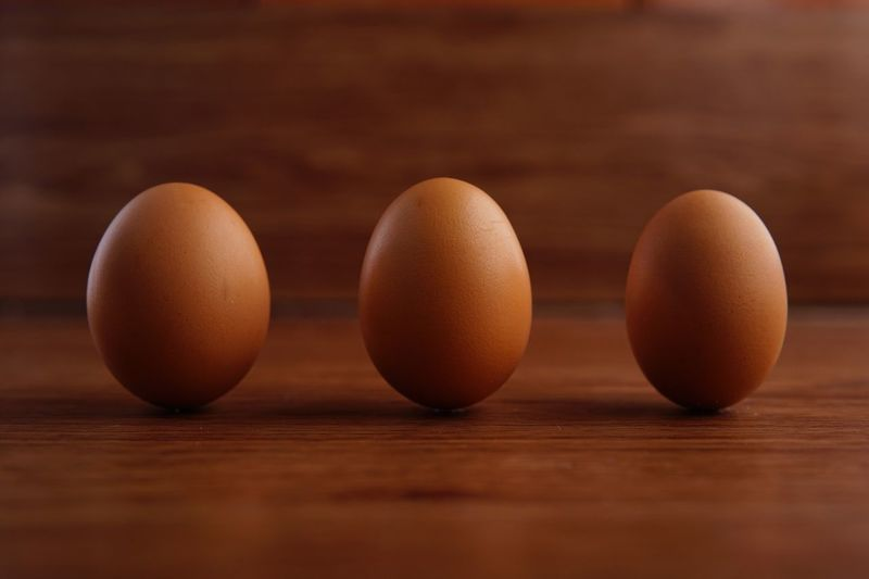 Raw Food Raw Protein Food Eggs Egg Standing Eggs