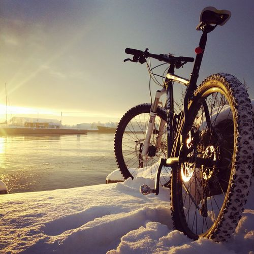 Mountainbike Nature Photography EyeEm Best Shots Bike Adventure EyeEm Best Shots - Nature Bicycling Beautiful Snow Showcase: January Cold Cold Days Sunset River Ice EyeEmBestPics Relaxing Foog Boat EyeEm Best Shots - Sunsets + Sunrise Alternative Fitness