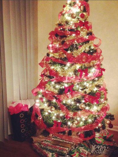 Christmas Tree Redribbon Shiny Mychristmastree