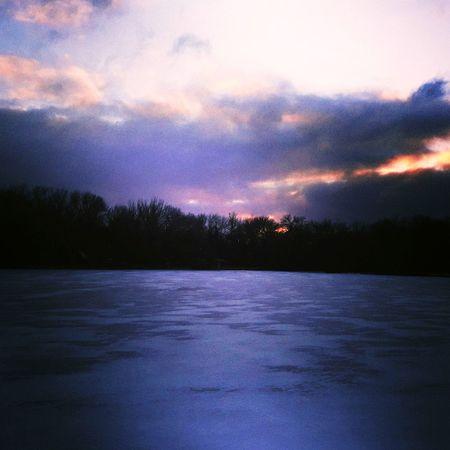 Lake No People Nature