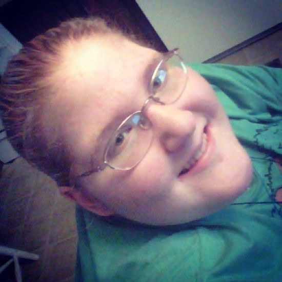 Had a pretty good day today Hazel Eyes  Happy Smile Blonde_and_red_hair Bored