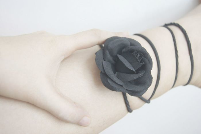 Black Rose entwines on a White fence The Purist (no Edit, No Filter) Roses Sony Alpha Anklet