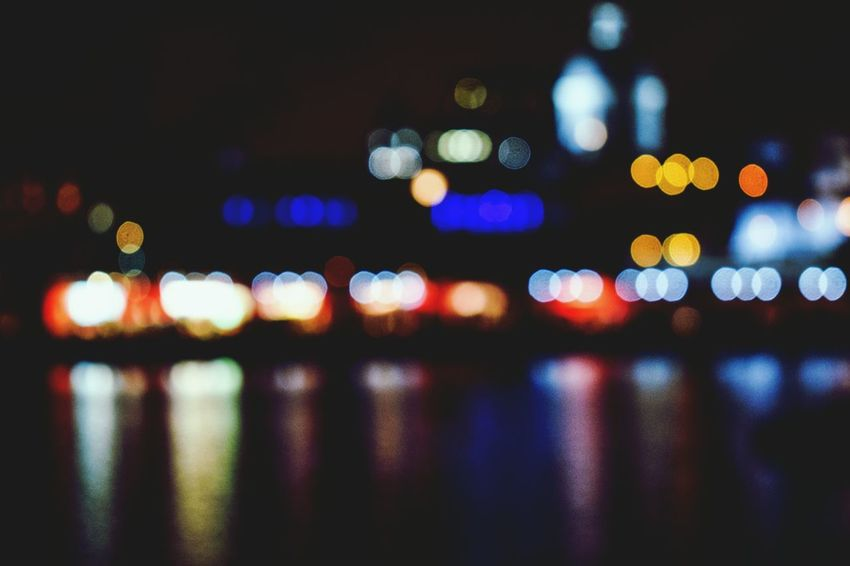 Little bit BlurryIlluminated Defocused City Close-up Multi Colored Bokeh Photography EyeEm Selects Neon Life Mix Yourself A Good Time