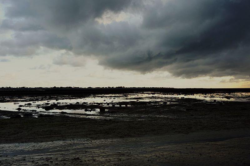 Nature Cloud - Sky Tranquility Salt Basin Storm Cloud