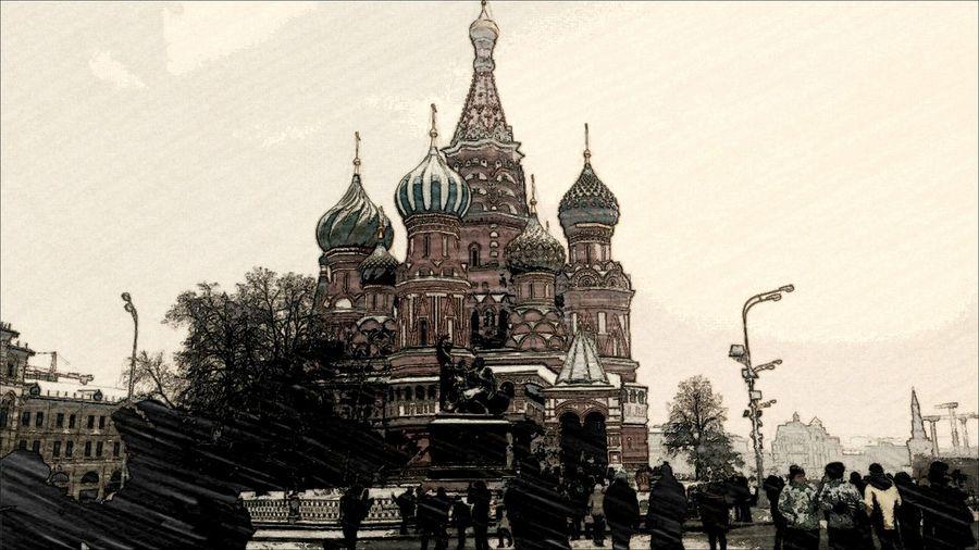 Москва я очень люблю тебя💜💜💜