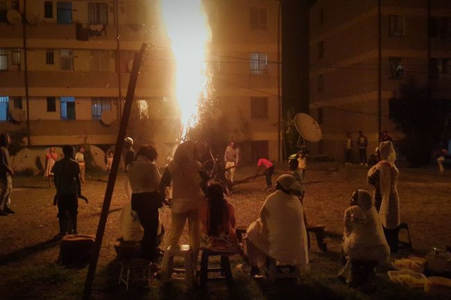 Addis Ababa Home Celebration Meskel Demera Fire Holidays In Ethiopia Holiday Ethiopia Coffee Phonecamera Eyemphotos