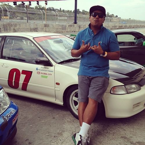 The master of hill and toe Circuit Driver @lestercodog with his Tuned EG6 Kanjotracing Spracing Autoplus Motul xotix jdmboy pagmaytime @christrajano @coyenriquez @raymond_r33