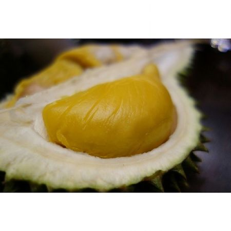Durian time again =) Guess what durian is this? Fruit Durian Maoshanwang Favourite foodplease eatout foodporn yummy fatdieme food instagood instafood instafoodies foodie foodgasm fotd foodgram foodinc sgfood sgigfoodies singaporefood foodforfoodies foodstagram lifeisdeliciousinsingapore happytummy foodphotography foodpics