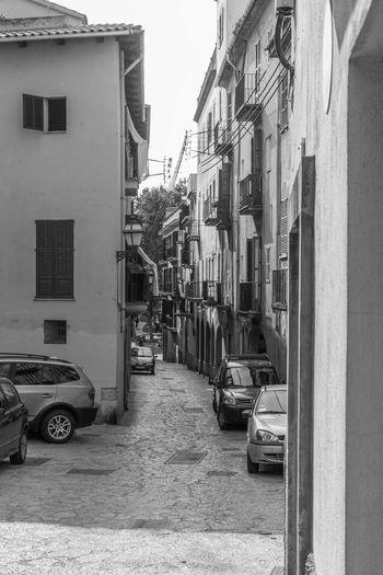 Street amidst buildings in city