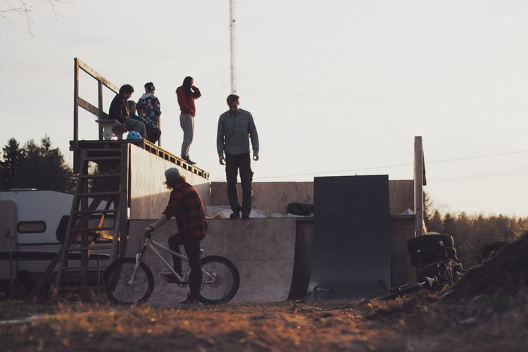 Sunset Bmx  Glorydays Golden Hour 50mm Canon600D Scandinavia Finland Wethepeoplebmx Foampit