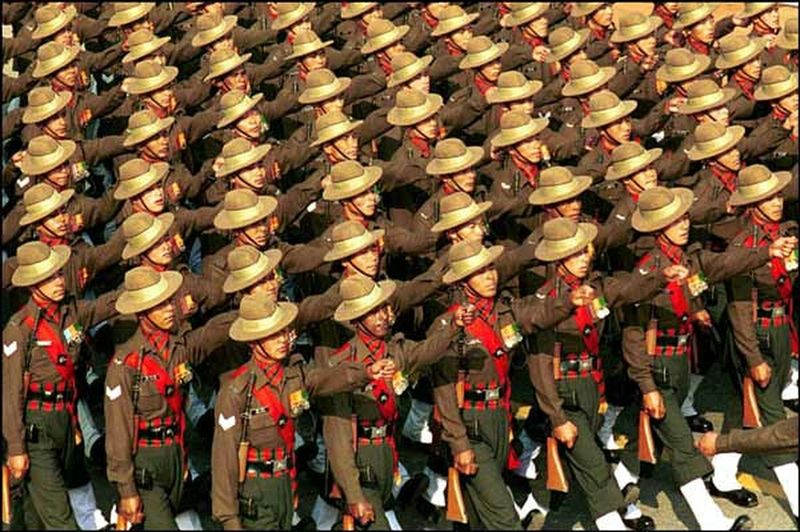 Indian Army Gurakha Battalion
