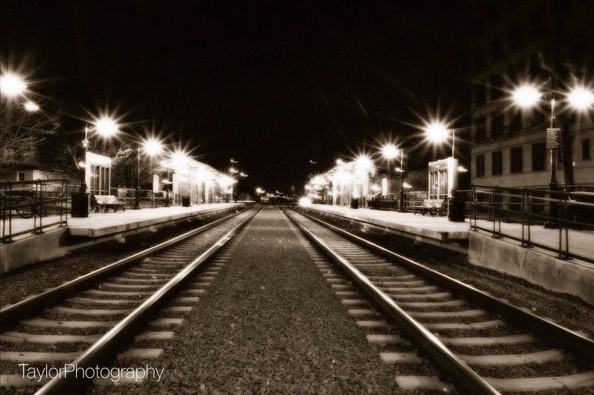Train Station.. Long Exposure Nikon Taylorphotography Train Tracks