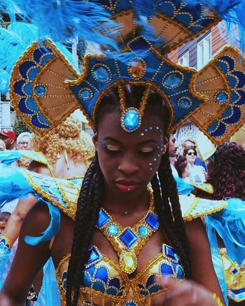 Carnival Carnaval Summer Summer Vibes Dancing Dancing Girl Colorful Color Portrait Blue Fethers Glitter Having Fun Parade Show Portrait Of A Woman Portrait Portraits Young Women Young Adult Wanderlust