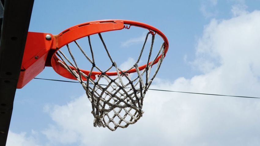 Samsung Kzoom after working hard Game Basketball On A Break Street Photography Sky And Clouds Hoop